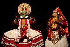 Kathakali Theatre Fotografia Stock