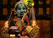 Kathakali toont Stock Afbeeldingen
