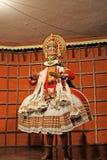 Kathakali tradional dance actor Stock Photo