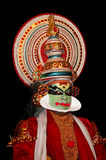 Kathakali tradional dance actor Royalty Free Stock Photography