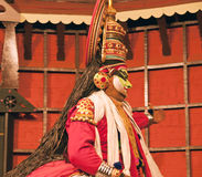 Kathakali tradional dance actor. Kochi (Cochin), India Stock Photography