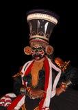 Kathakali tradional Tanzschauspieler Stockfotos