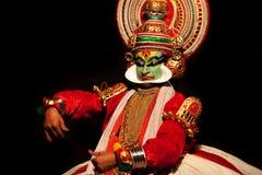 kathakali wykonawca Zdjęcie Royalty Free