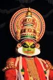 Kathakali Zeichen Stockfoto