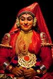Kathakalidans in Kerala, Zuid-India Stock Afbeeldingen