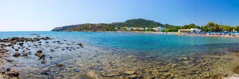 Kathara Beach Faliraki Stock Photo