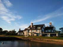 Katharine Hepburn House in Saybrook Connecticut Royalty-vrije Stock Afbeelding
