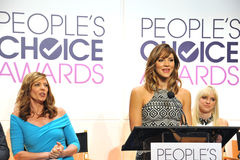 Katharine McPhee & Allison Janney & Anna Faris Royalty Free Stock Photo