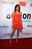 Katharine McPhee bij het Globale Feest van de Toekenning van de Actie, Beverly Hilton Hotel, Beverly Hills, CA. 02-18-11 Stock Foto