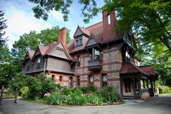 Katharine Seymour Day House. This house is part of the complex containing Mark Twain, Harriet Beecher Stowe, and Katharine Seymour Day homes in Hartford, CT Royalty Free Stock Image