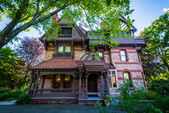 The Katharine Seymour Day House, in Hartford, Connecticut. Royalty Free Stock Image