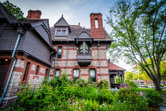 The Katharine Seymour Day House, in Hartford, Connecticut. Stock Photos