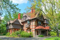 Katharine Seymour Day House Hartford, CT, USA arkivbild