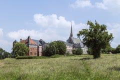 Katharinenstift是列日省的隆特岑一个修道院 免版税库存图片
