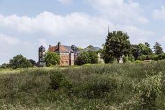 Katharinenstift是列日省的隆特岑一个修道院 免版税库存照片