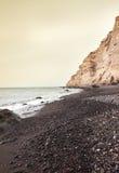Katharos beach at Oia of Santorini island Royalty Free Stock Images