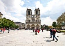 Kathedraal 2 van Notre Dame Stock Fotografie