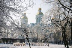 Kathedraal 4 van Nikolsky royalty-vrije stock afbeelding