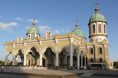Kathedraal, Addis Ababa, Ethiopië, Afrika Stock Foto's