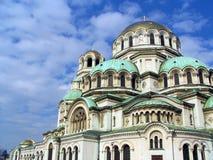 Kathedraal Alexander Nevski in Sofia Stock Afbeeldingen