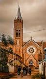 Kathedraal in Ambalavao Stock Foto's
