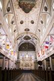 Kathedraal - Basiliek van Heilige Lewis in New Orleans Royalty-vrije Stock Foto