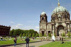 Kathedraal in Berlijn stock afbeelding