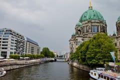 Kathedraal in Berlijn Stock Foto