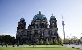 Kathedraal in Berlijn, Duitsland Stock Afbeelding