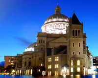 Kathedraal in Boston Royalty-vrije Stock Fotografie