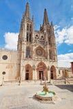 Kathedraal in Burgos, Spanje royalty-vrije stock fotografie