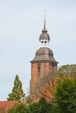 Kathedraal in Cloppenburg, Duitsland Stock Fotografie