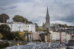 Kathedraal in Cobh, Ierland Stock Foto's
