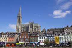 Kathedraal in Cobh Ierland Stock Afbeelding
