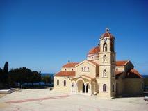 Kathedraal in Cyprus Royalty-vrije Stock Afbeeldingen
