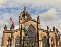 Kathedraal in Edinburgh, Schotland stock foto