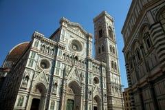 Kathedraal en Duomo Florence royalty-vrije stock foto's