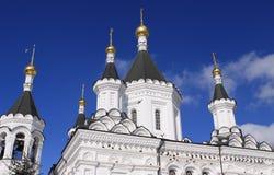 Kathedraal en hemel Royalty-vrije Stock Fotografie