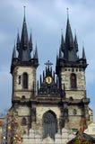 Kathedraal en Pasen Royalty-vrije Stock Afbeeldingen