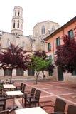 Kathedraal in Figueres, Spanje Royalty-vrije Stock Foto's