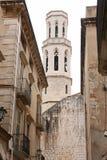 Kathedraal in Figueres, Spanje Stock Afbeeldingen