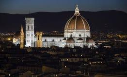 Kathedraal in Florence Stock Afbeeldingen