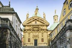 Kathedraal Graz Oostenrijk Stock Afbeeldingen