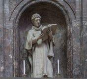 Kathedraal Heilige Gervais Saint Protais in Soissons, Frankrijk Stock Foto's