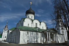 Kathedraal heilige-Troitsky. Alexandrov. Rusland. Stock Afbeeldingen