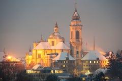 Kathedraal Heilige Ursen, Solothurn royalty-vrije stock afbeeldingen