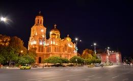 Kathedraal Heilige Veronderstelling stock afbeelding