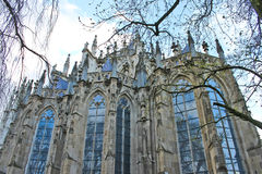 Kathedraal in Hol Bosch. Royalty-vrije Stock Afbeelding
