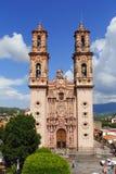 Kathedraal I van Taxco Royalty-vrije Stock Afbeeldingen