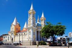 Kathedraal in Ilheus brazilië royalty-vrije stock afbeelding